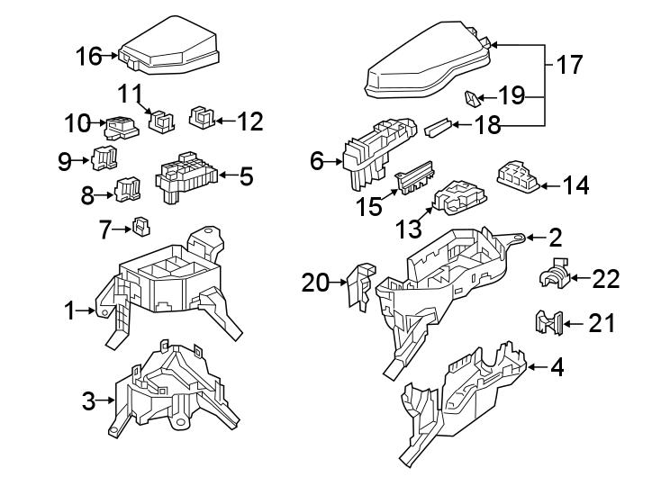 Toyota RAV4 Fuse Puller. COMPARTMENT, ENGINE, BUILT