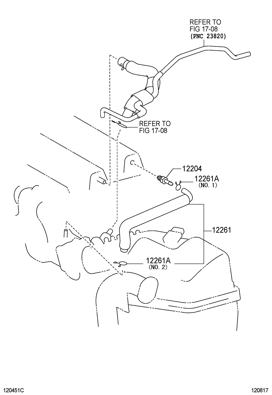Toyota Yaris Valve Sub Assembly Ventilation Valve Pcv