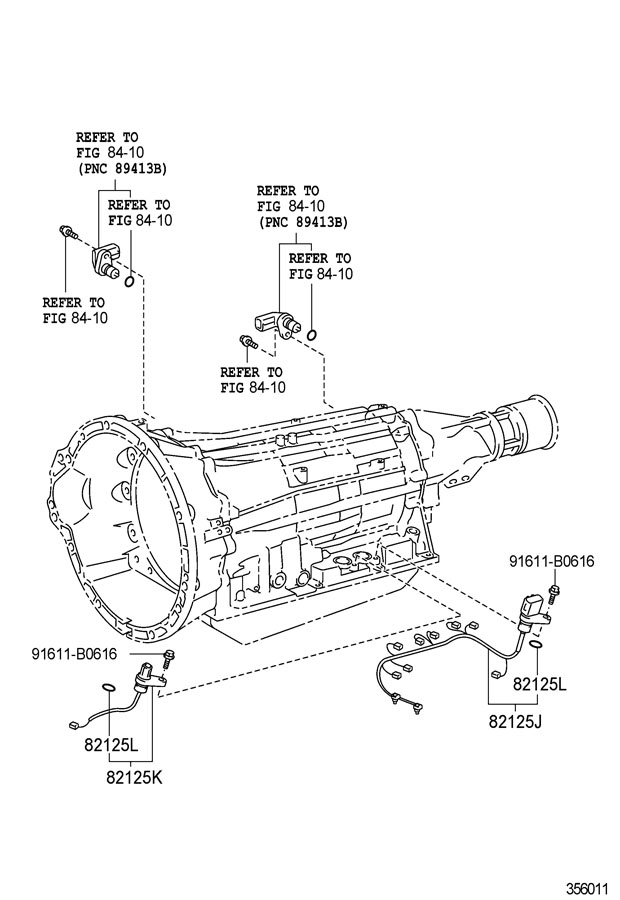 Toyota Tundra Wire, transmission. Wire, transmission. Wire