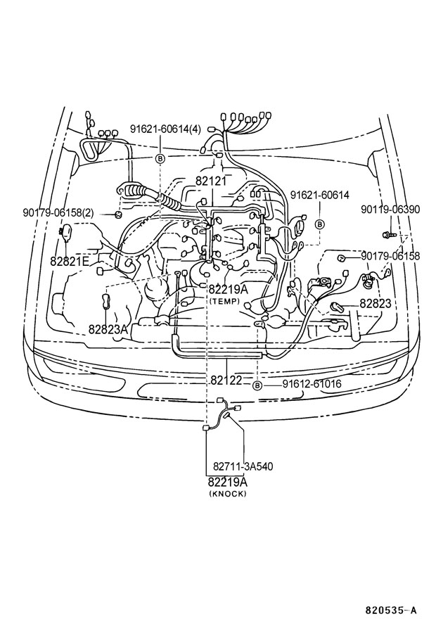 2000 TOYOTA TUNDRA 4 7 ENGINE DIAGRAM - Auto Electrical ...