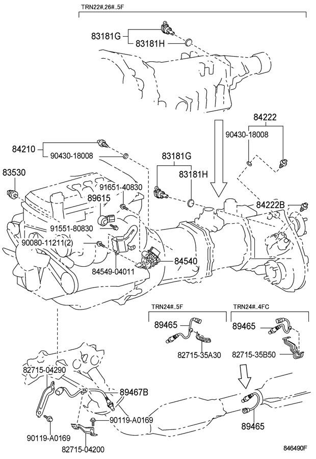 Toyota Tacoma Switch assembly, neutral start. Switch