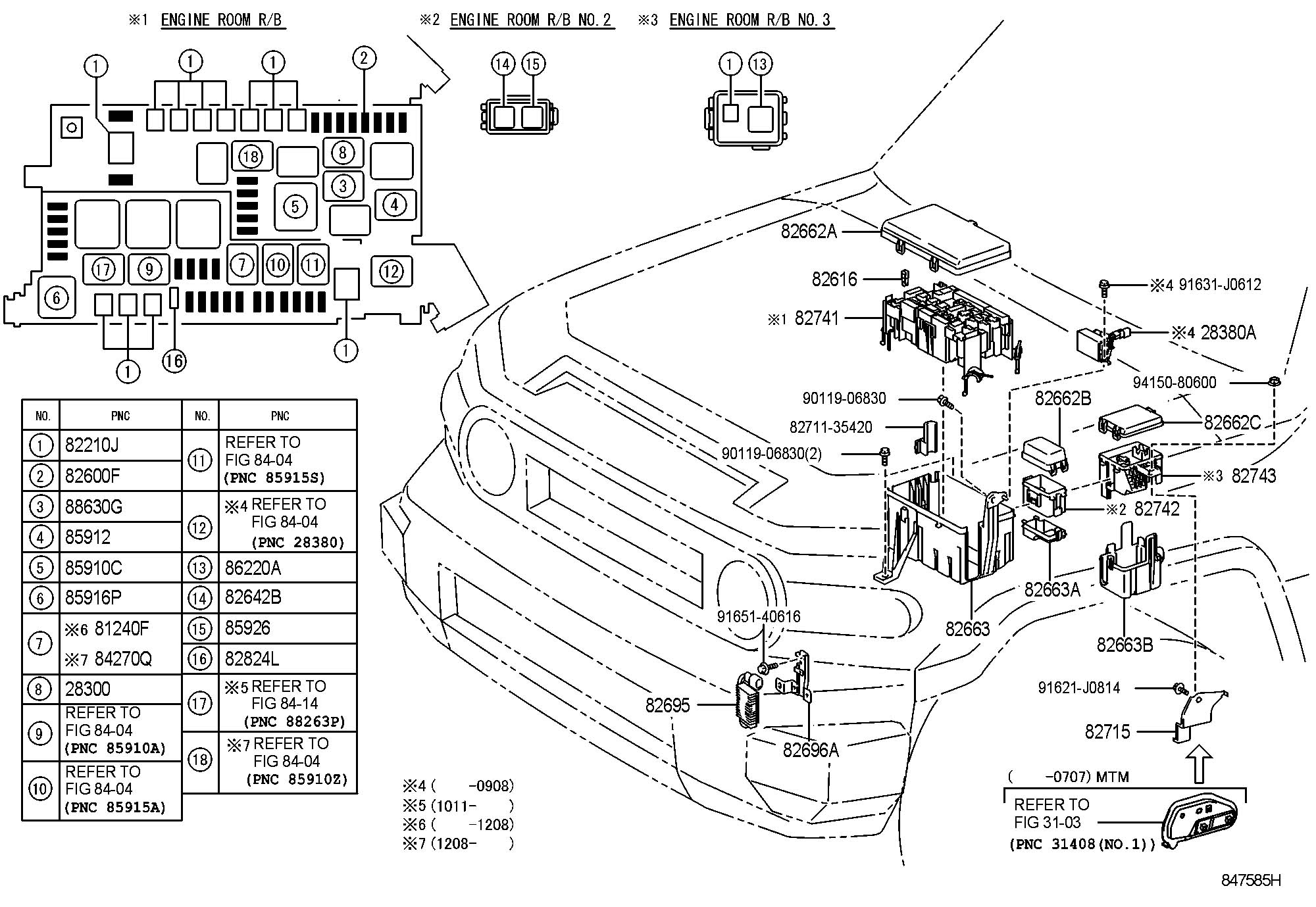 2007 Toyota FJ Cruiser Resister, fuel pump. Resistor