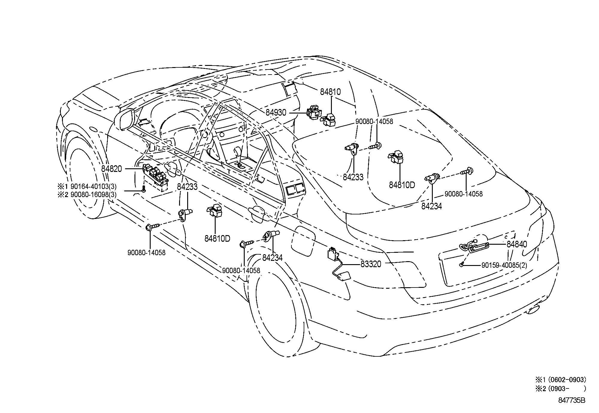 Toyota Camry Switch Assembly Door Control Switch