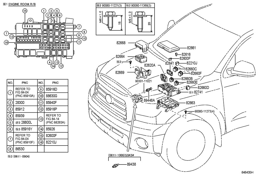 Toyota Tundra Sensor, power steering oil pressure; switch