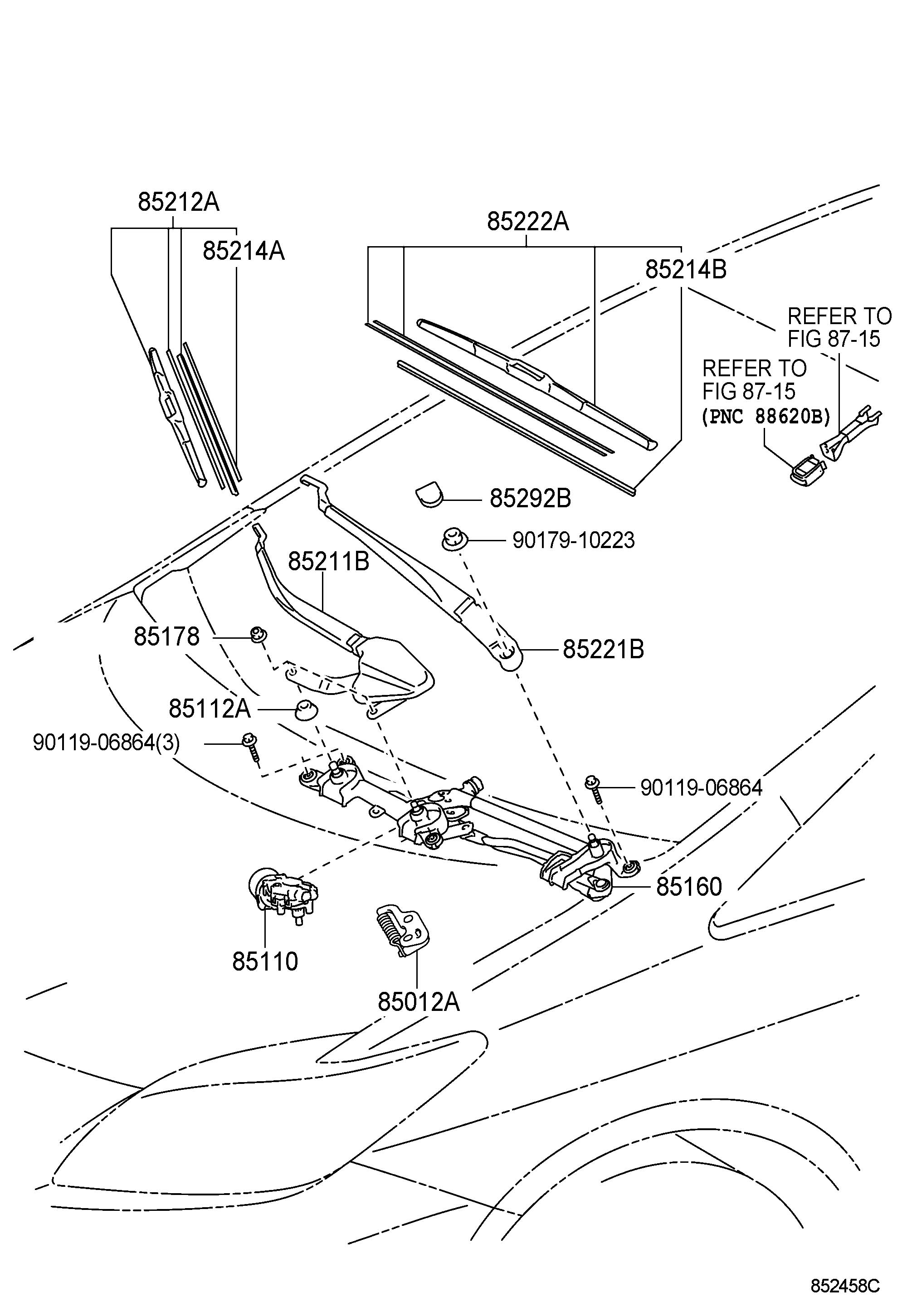 2008 Toyota Sienna Parts Diagram Dash. Toyota. Auto Wiring