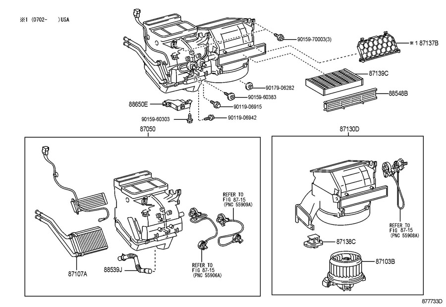 Toyota Yaris Amplifier assembly, air conditioner, no.1