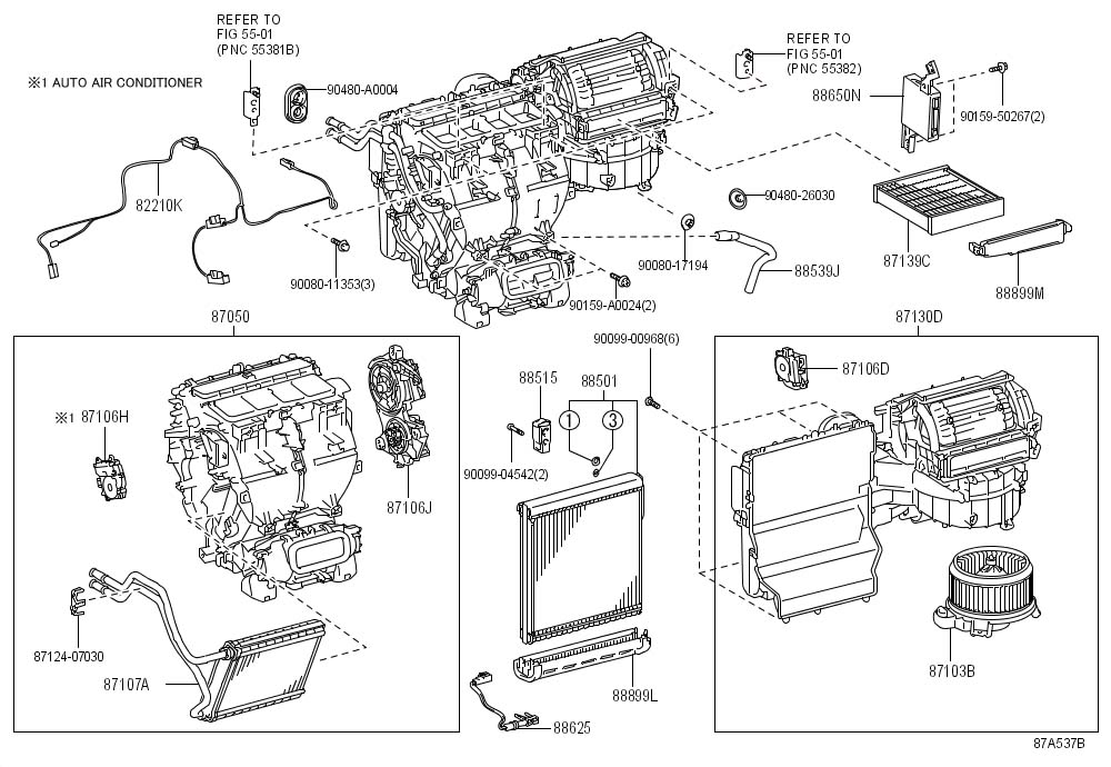 Toyota Venza Amplifier assembly, air conditioner