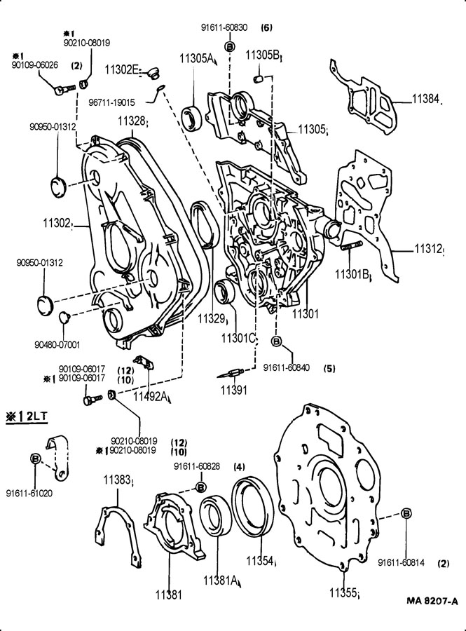 1986 Toyota 4Runner LOW DECK,PICKUP, DLX 2400CC DIESEL