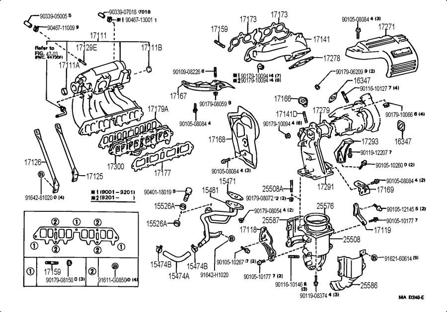 Toyota MR2 Pipe, turbo oil, no.1. Pipe, oil. Pipe, oil