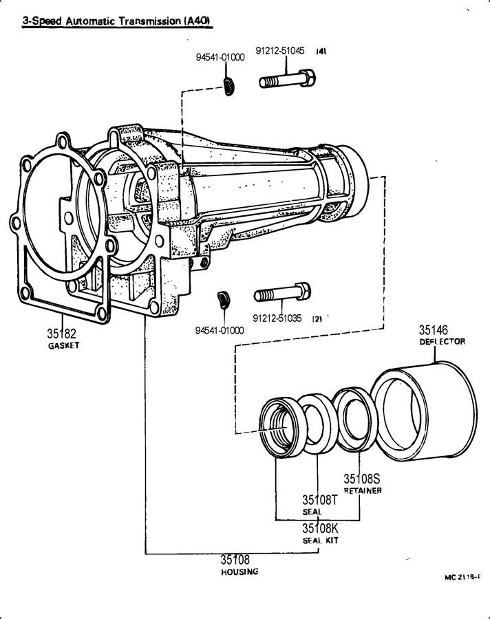 Toyota Corona Manual