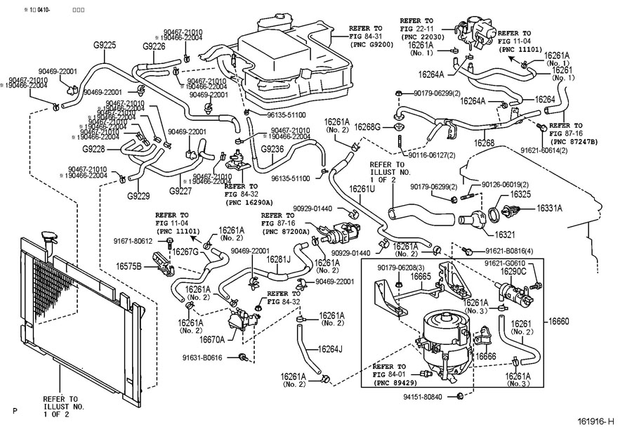 2013 Toyota Prius Interior Parts Diagram