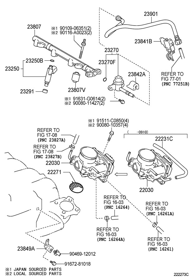 Service manual [How To Remove Intake Manifold 2003 Toyota