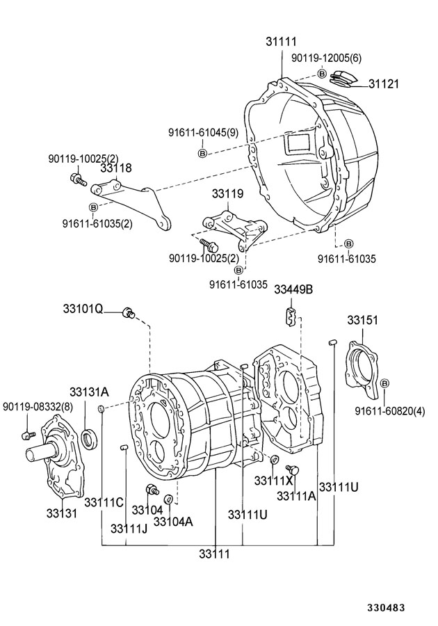 Toyota Pickup Transmission Parts Diagram • Wiring Diagram