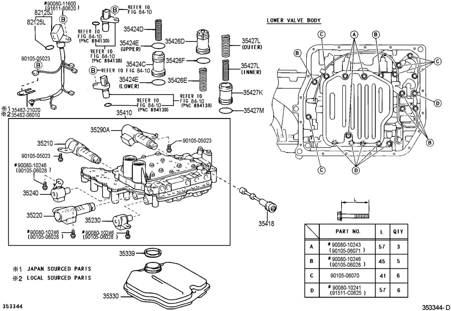 Service manual [Solenoid Pack For A 1999 Lexus Rx Pdf
