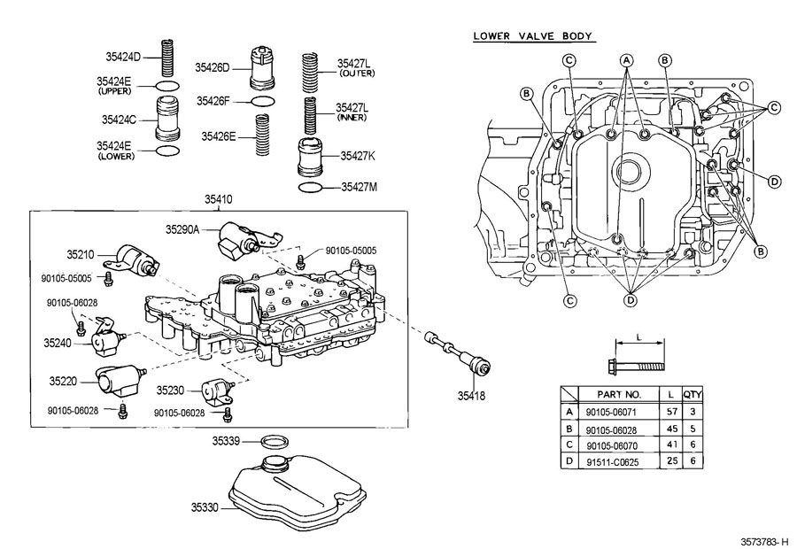 Toyota Corolla Transmission Diagram, Toyota, Free Engine