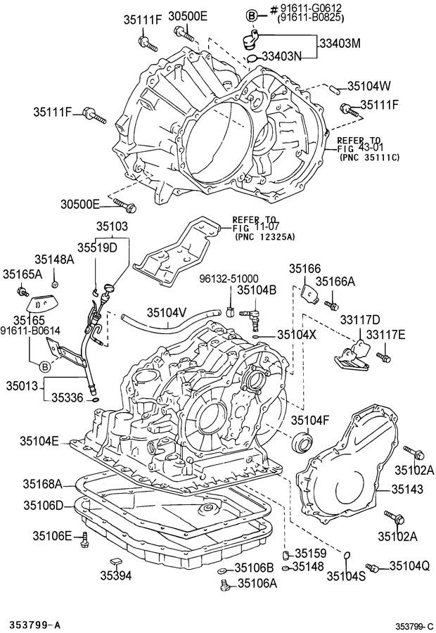 2003 Toyota corolla manual transmission parts