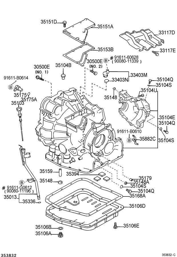 Toyota u660e transmission problems