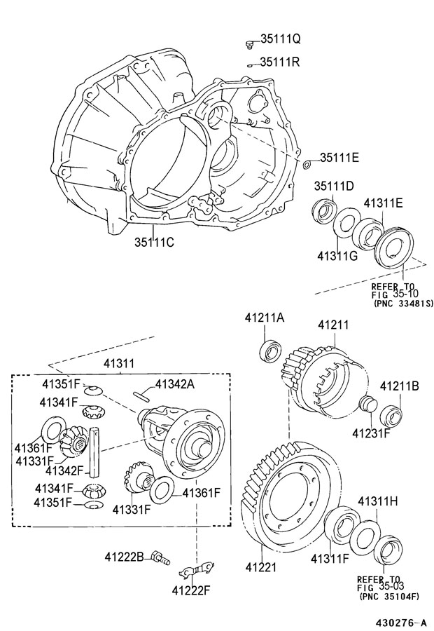 Toyota Tercel Front End Parts Diagram, Toyota, Free Engine