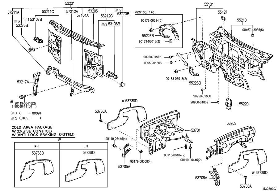 Toyota Tacoma Parts Diagram Exterior, Toyota, Free Engine