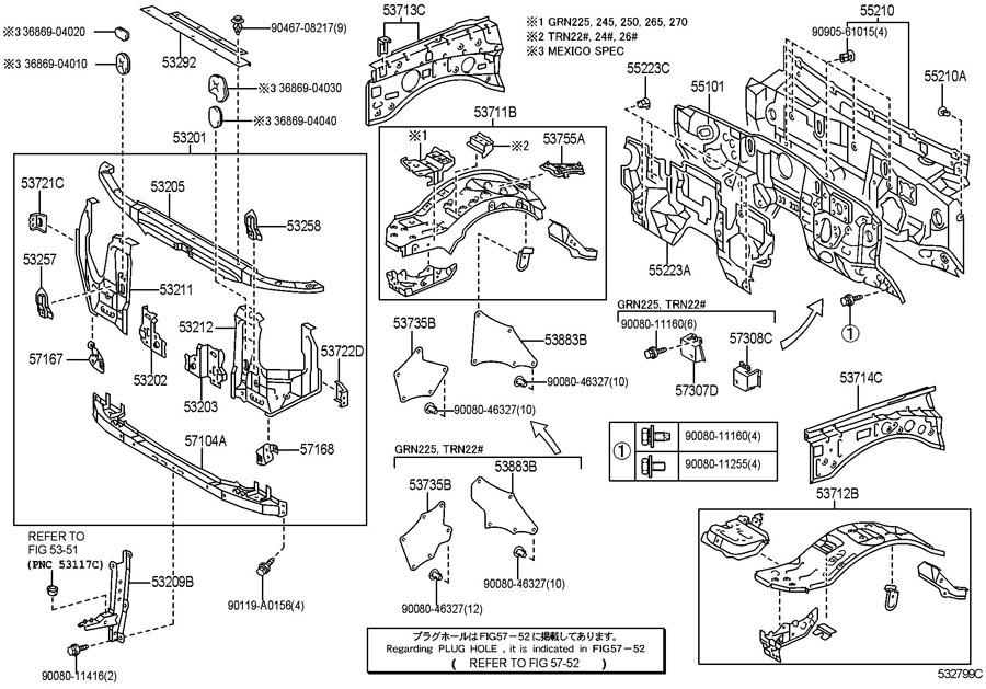Toyota Sequoia Interior Parts Diagram, Toyota, Free Engine