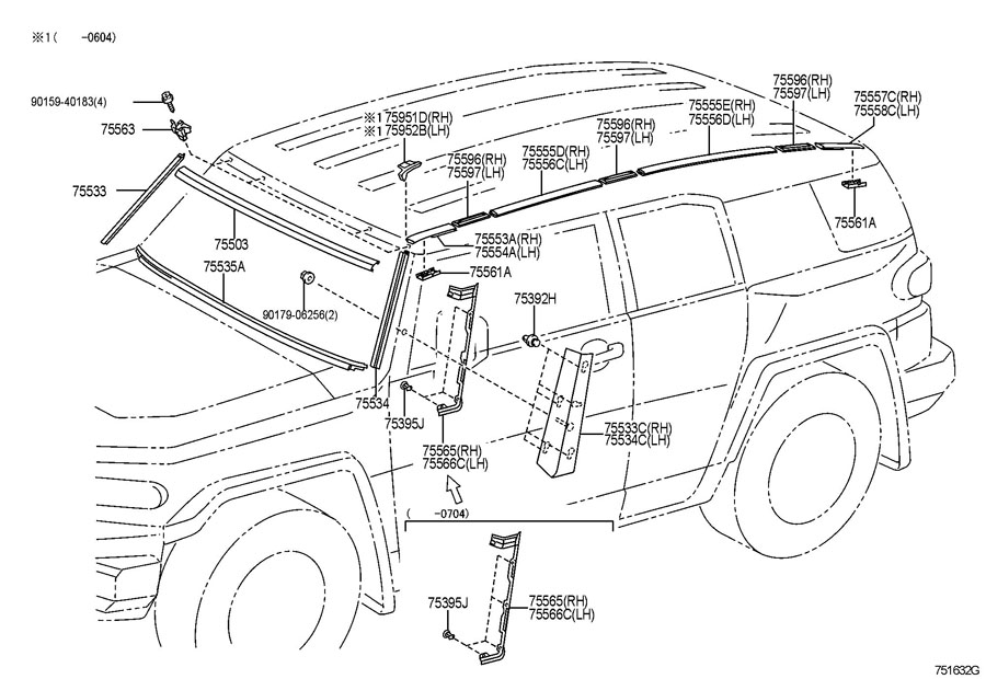 2010 Toyota Camry Body Parts Diagram. Toyota. Auto Wiring
