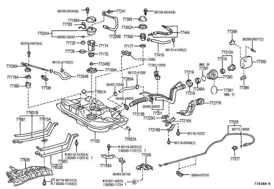 Diagram Of Windshield Wiper Washer System VW Rabbit
