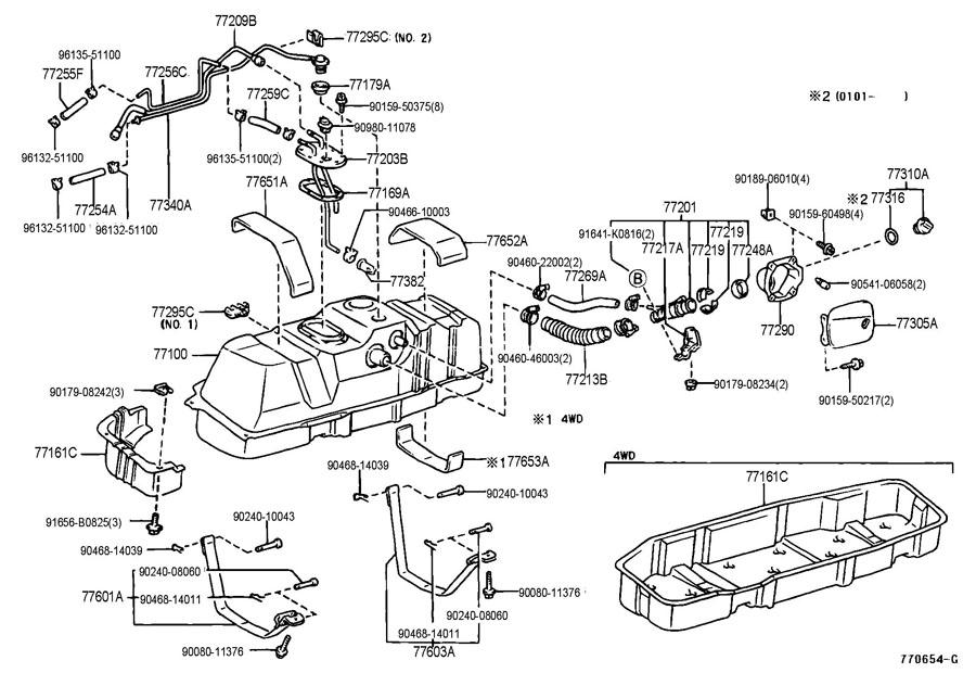 2000 Toyota Tundra Fuel Tank, 2000, Free Engine Image For