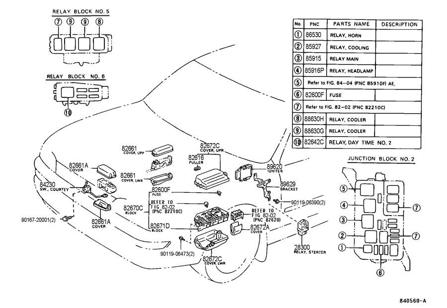 Toyota Corolla Relay Location, Toyota, Free Engine Image