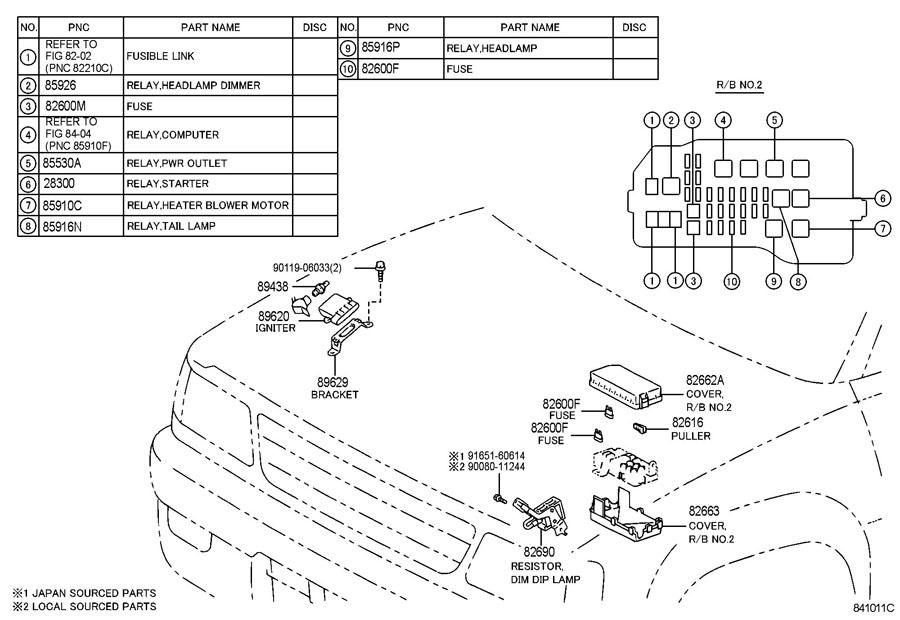 1995 Toyota Tacoma Ac Diagram : 29 Wiring Diagram Images
