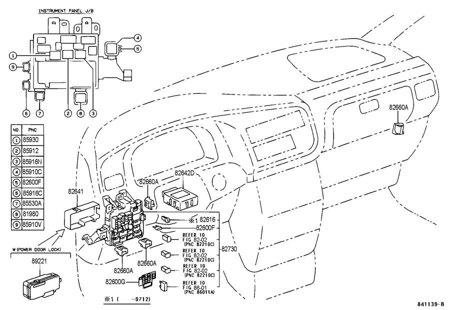 1994 Toyota Previa Fuse Box Location. Toyota. Auto Fuse