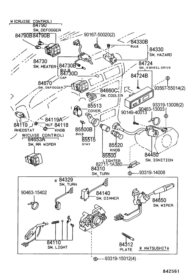 Toyota Turn Signal Flasher Wiring Diagram 1987, Toyota