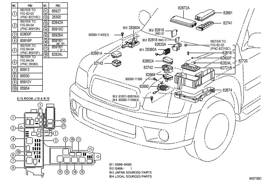 2004 Toyota Sequoia Fuse Box : 28 Wiring Diagram Images