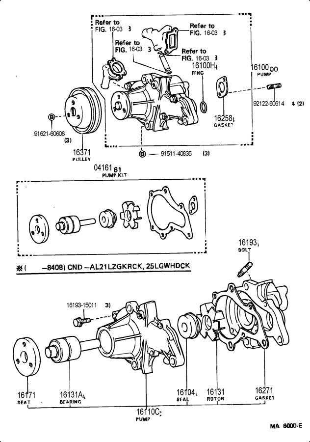 Firing order for 1987 toyota tercel 1500cc