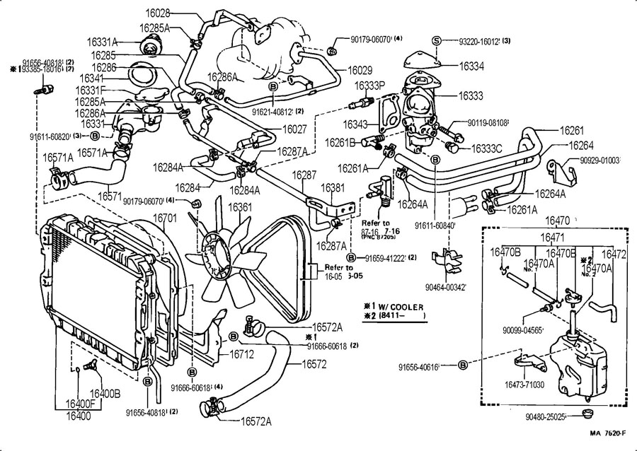 toyota 7mge engine wiring diagram 7mgte wire harness