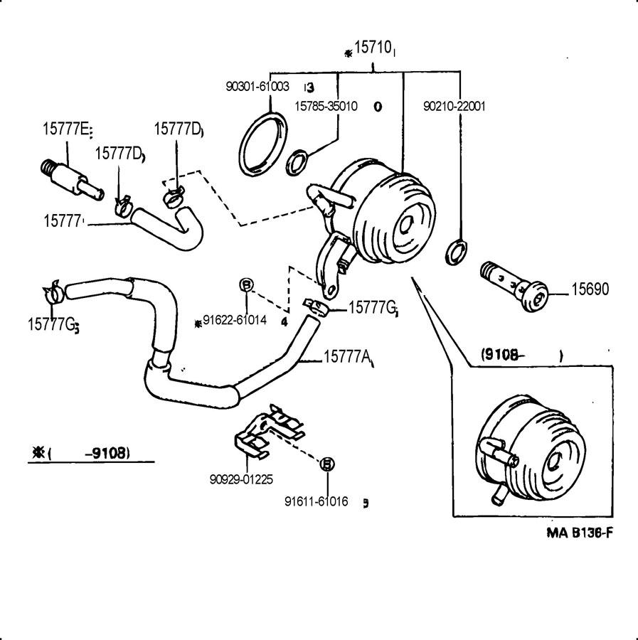 Toyota 4runner engine oil cooler