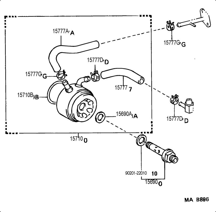 4runner Engine Oil Cooler, 4runner, Free Engine Image For
