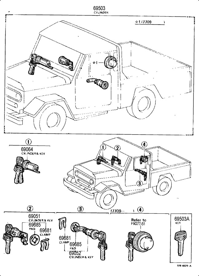 1976 Toyota Land Cruiser Fuse Box Diagram. Toyota. Auto