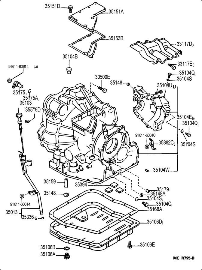 1993 Toyota Camry Radio Wiring Schematic