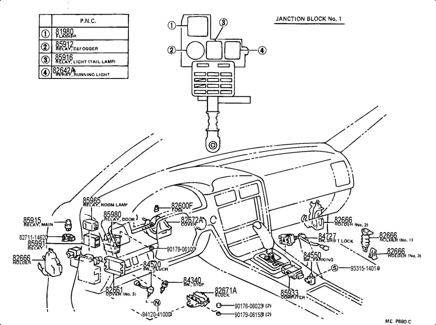 Wiring Diagrams on 1991 Toyota Cressida Electrical System
