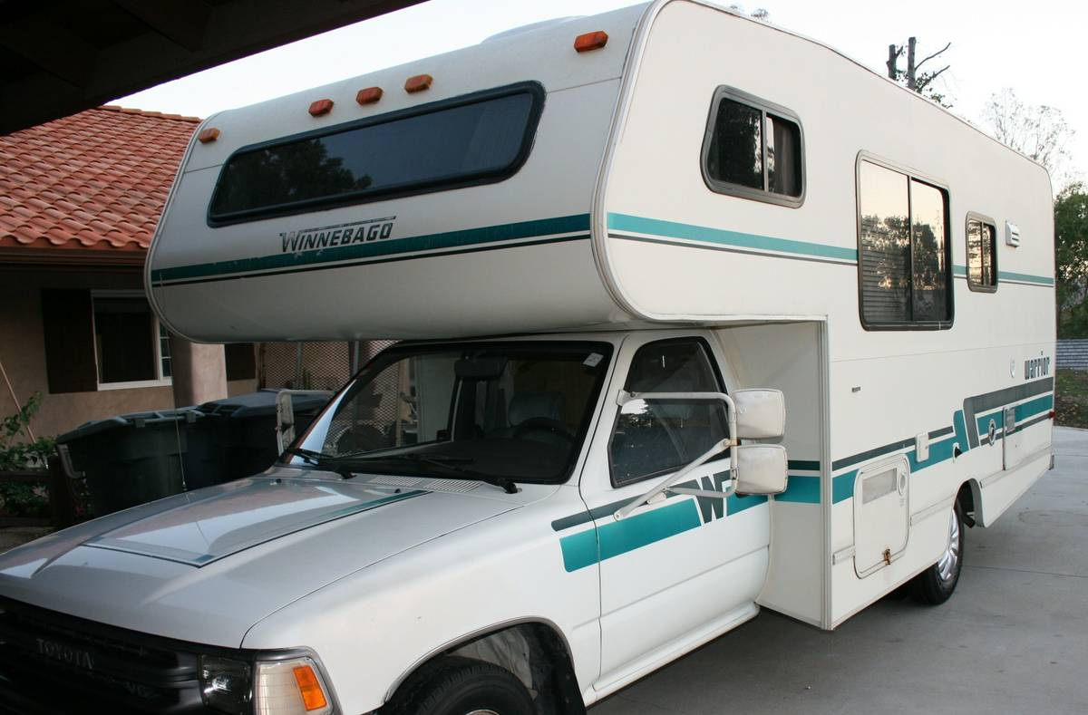 winnebago motorhomes 1998 jeep grand cherokee wiring diagram 1991 toyota motorhome for sale in temecula ca