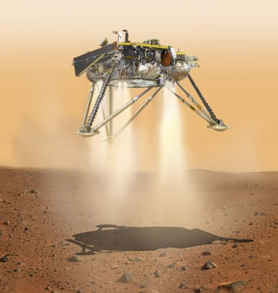 MISSION INSIGHT- TO MARS