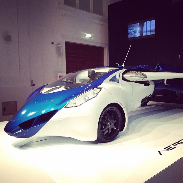 AeroMobil-Pioneers-Festival-Vienna-2014 FLYING TAXIS FOR CITIES IN 2023