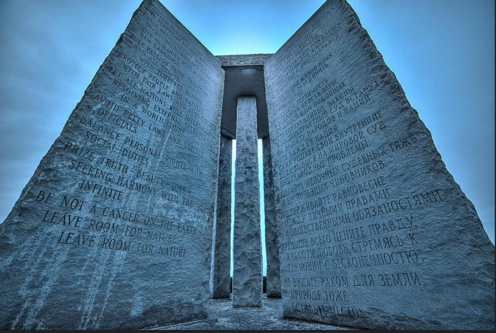 MYSTERIOUS PLACES OF THE WORLD: THE GUIDESTONES THE STONES GUIDES OF GEORGIA