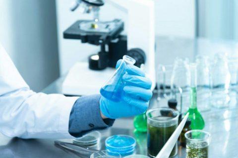 laboratorio sintetización experimentación
