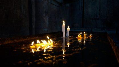 vele difunto sepultura luce lampada cera LE FAVE ED ALTRI RITUALI ROMANI