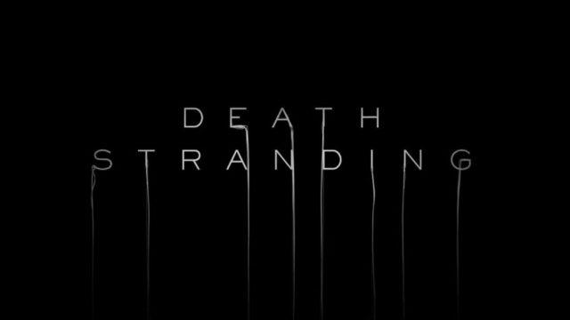 death stranding videojuego juego portada trailer