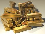 oro lingotes riqueza tesoro dinero poder