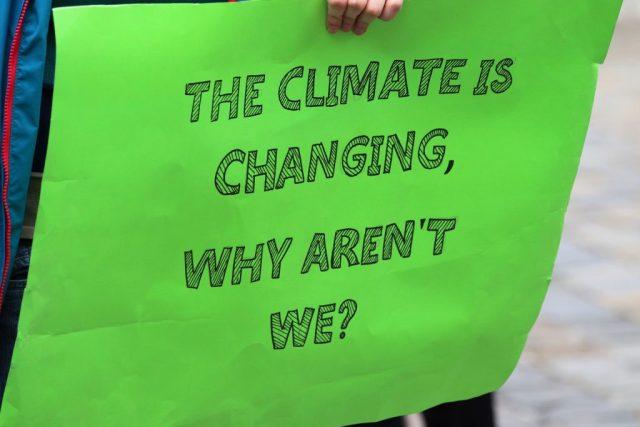 cambio climático manifestación protesta cumbre clima co2 SOS TIERRA