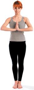 Girl do yoga - Copyright – Stock Photo / Register Mark