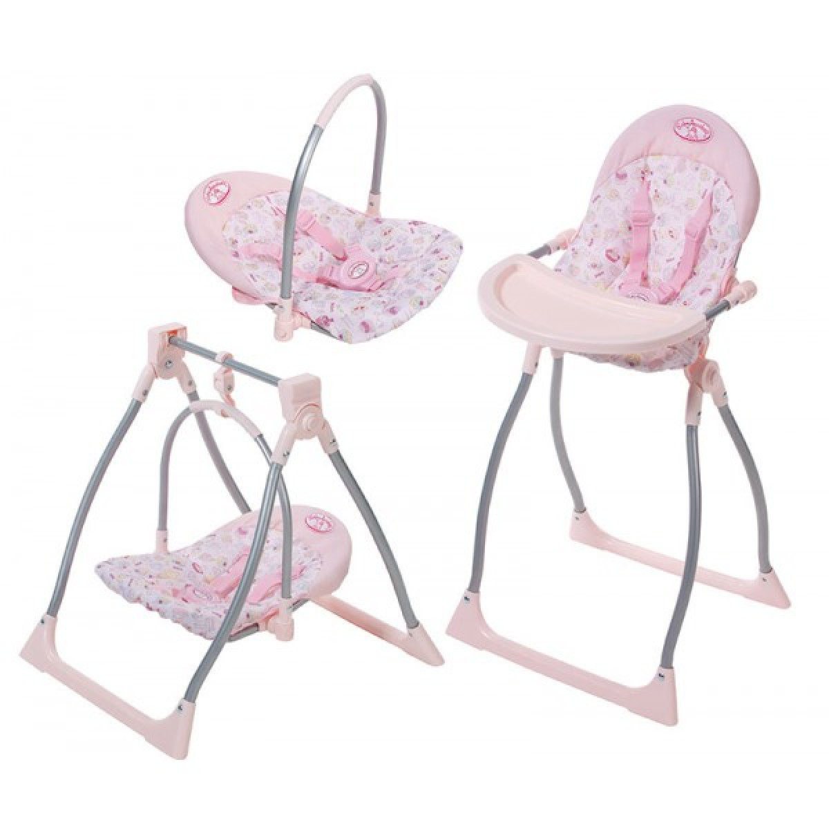 little tikes doll high chair target arm covers baby annabell 3 in 1 highchair swing and comfort seat